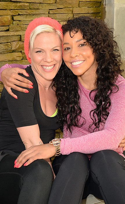 Pink and Jeanette Jenkins